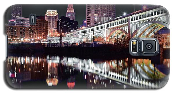 Galaxy S5 Case featuring the photograph Cle In Selective Color by Frozen in Time Fine Art Photography