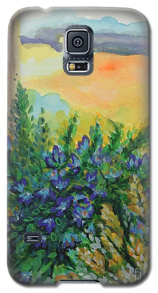Galaxy S5 Case featuring the painting Cleansed by Holly Carmichael
