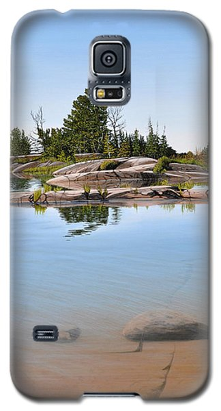 Clear Contentment Galaxy S5 Case