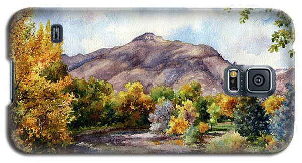 Galaxy S5 Case featuring the painting Clear Creek by Anne Gifford