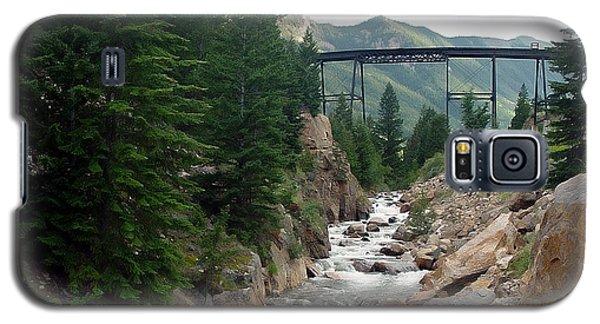 Clear Creek Colorado Galaxy S5 Case