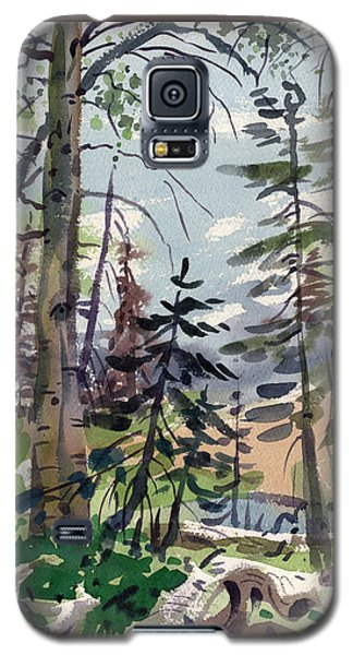 Clear Lake Galaxy S5 Case by Donald Maier