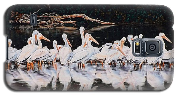 Clear Lake Pelicans Galaxy S5 Case