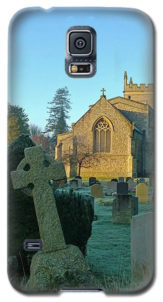 Clear Light In The Graveyard Galaxy S5 Case