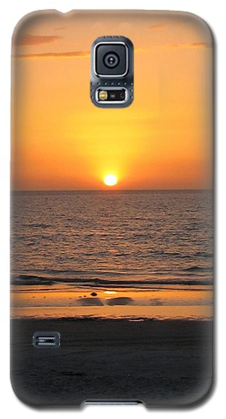 Clear Sunset Galaxy S5 Case