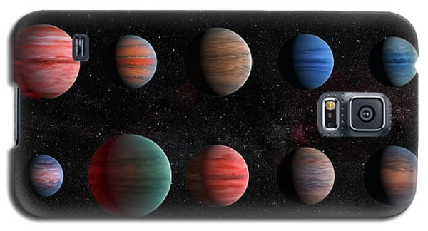 Clear To Cloudy Hot Jupiters Galaxy S5 Case