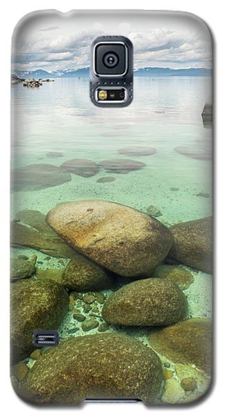 Clear Water, Stormy Sky Galaxy S5 Case