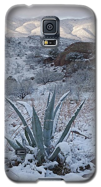 Clearing Desert Snowstorm Galaxy S5 Case