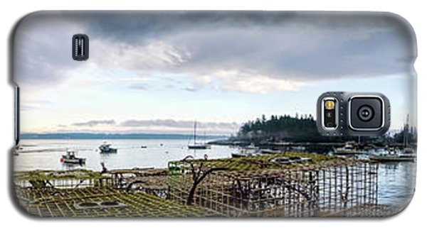 Galaxy S5 Case featuring the photograph Clearing Skies Over Sheepscot Bay, Georgetown, Maine by John Bald