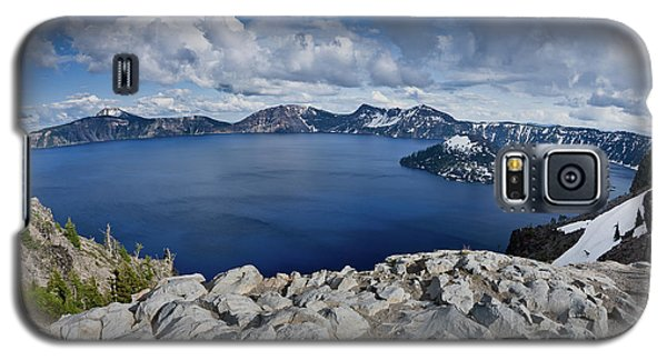 Clearing Storm At Crater Lake Galaxy S5 Case