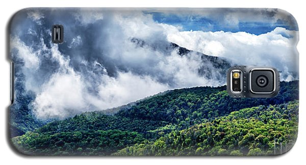 Galaxy S5 Case featuring the photograph Clearing Storm Highland Scenic Highway by Thomas R Fletcher