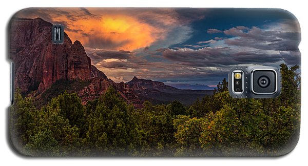Clearing Storm Over Zion National Park Galaxy S5 Case