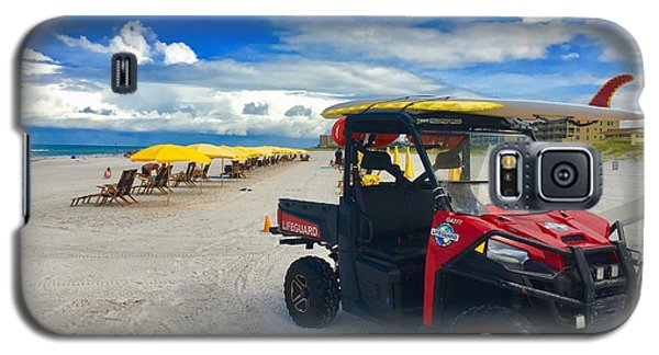 Clearwater Beach Lifeguard Atv Galaxy S5 Case