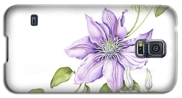 Clematis Cezanne Galaxy S5 Case