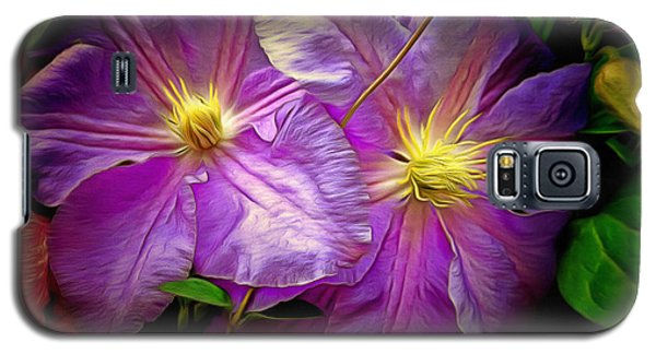 Clematis Azure Pearl Galaxy S5 Case