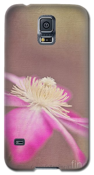 Clematis Galaxy S5 Case by Laurinda Bowling