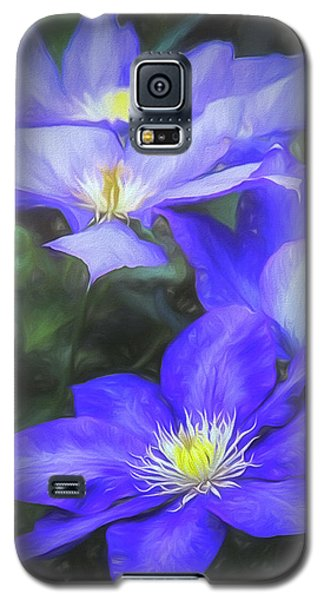 Clematis Galaxy S5 Case by Linda Blair