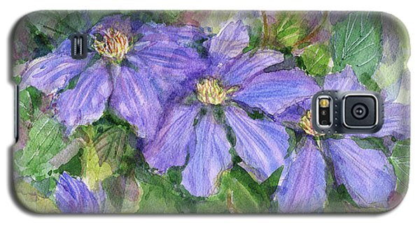 Clematis Galaxy S5 Case