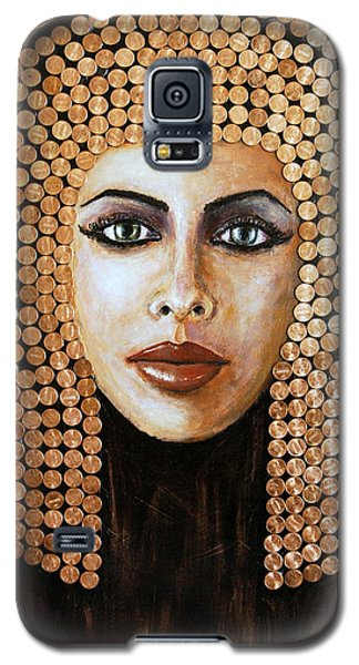 Cleopatra Galaxy S5 Case by Arturas Slapsys