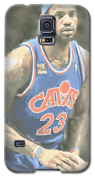 Cleveland Cavaliers Lebron James 1 Galaxy S5 Case