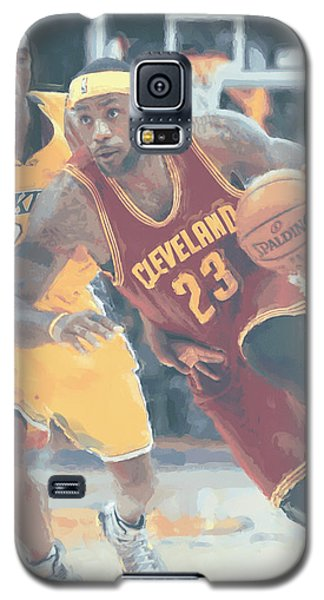Cleveland Cavaliers Lebron James 3 Galaxy S5 Case