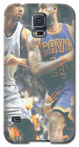 Cleveland Cavaliers Lebron James 4 Galaxy S5 Case