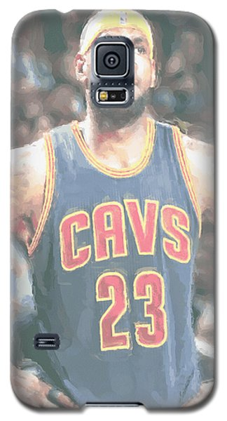 Cleveland Cavaliers Lebron James 5 Galaxy S5 Case