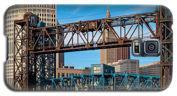 Cleveland City Of Bridges Galaxy S5 Case