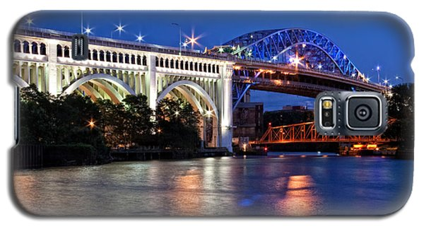 Cleveland Colored Bridges Galaxy S5 Case