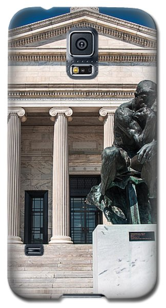 Cleveland Museum Of Art, The Thinker Galaxy S5 Case