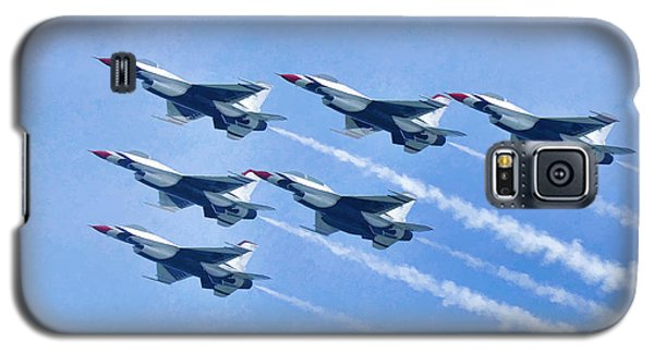 Cleveland National Air Show - Air Force Thunderbirds - 1 Galaxy S5 Case
