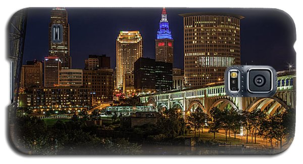 Cleveland Nightscape Galaxy S5 Case