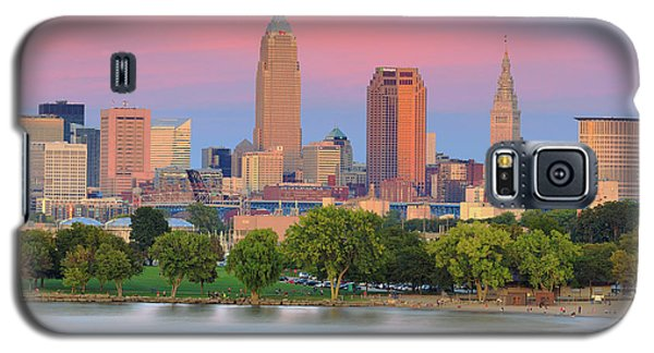Cleveland Skyline 6 Galaxy S5 Case