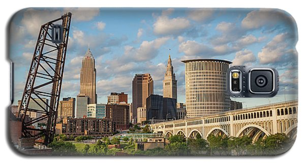 Cleveland Summer Skyline  Galaxy S5 Case