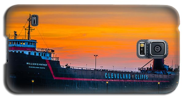 Cleveland Sunset Galaxy S5 Case