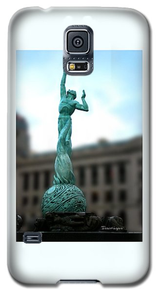 Cleveland War Memorial Fountain Galaxy S5 Case