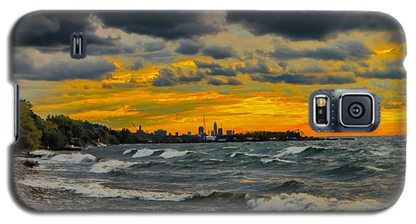 Cleveland Waves Galaxy S5 Case