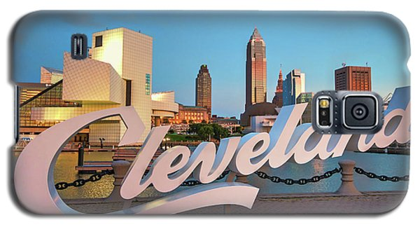 Galaxy S5 Case featuring the photograph Cleveland's North Coast by Brent Durken