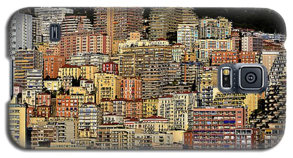 Cliff Dwellers Of Monte Carlo Galaxy S5 Case by Richard Ortolano