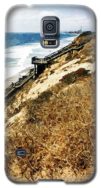 Cliff View - Carlsbad Ponto Beach Galaxy S5 Case