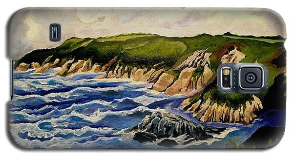 Cliffs And Sea Galaxy S5 Case