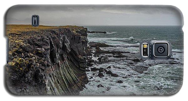 Cliffs At Arnarstapi Galaxy S5 Case