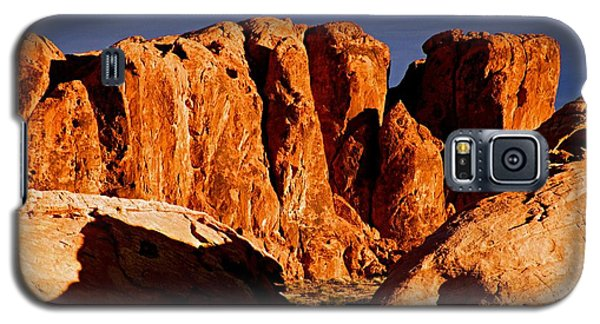 Cliffs In Valley Of Fire State Park, Nv Galaxy S5 Case