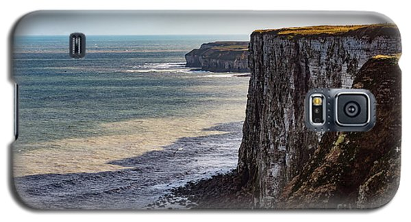 Galaxy S5 Case featuring the photograph Cliffs Of Bempton by Anthony Baatz