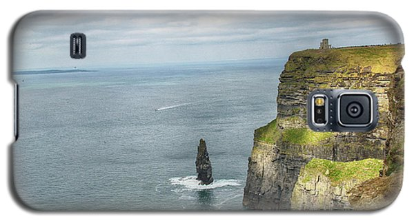 Galaxy S5 Case featuring the photograph Cliffs Of Moher 3 by Marie Leslie