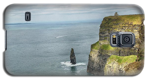 Cliffs Of Moher 3 Galaxy S5 Case by Marie Leslie
