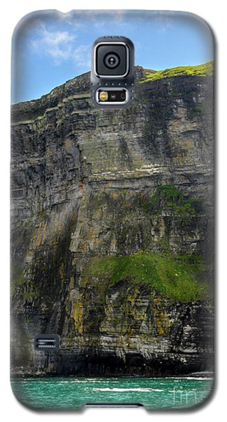 Galaxy S5 Case featuring the photograph Cliffs Of Moher From The Sea Close Up by RicardMN Photography