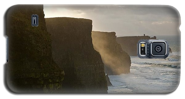 Galaxy S5 Case featuring the photograph Cliffs Of Moher II by Louise Fahy