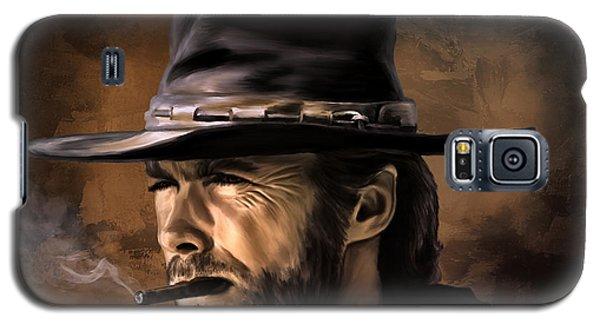 Galaxy S5 Case featuring the digital art Clint by Andrzej Szczerski