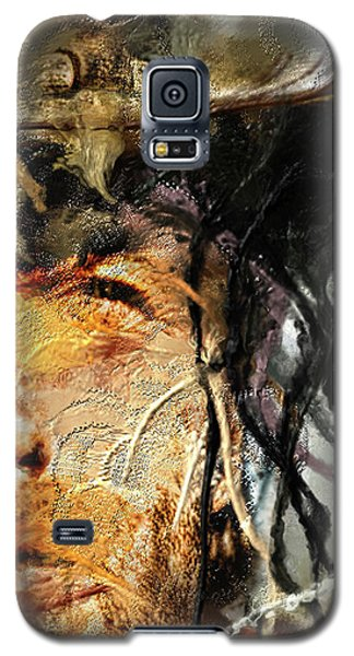 Clint Eastwood Galaxy S5 Case by Michael Cleere